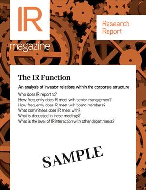 IR Function Sample