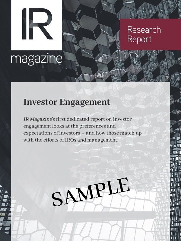 Investor Relations Report Sample