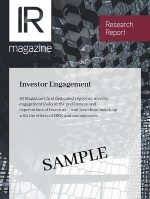 Investor Relations Report Sample