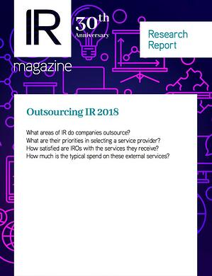 Outsourcing IR Research Report